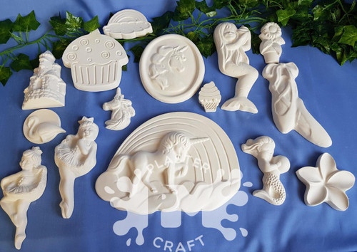 PM Plaster Craft All The Pretty Things Bulk Pack