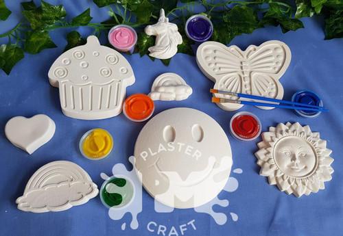 PM Plaster Craft Joyful Creations Bulk Pack