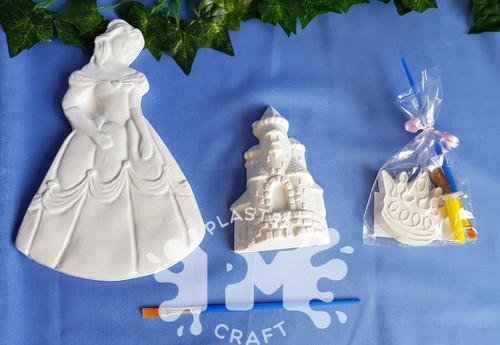 PM Plaster Craft Princess Party Bundle