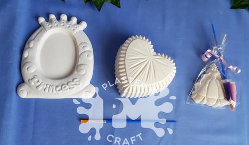 PM Plaster Craft Ultimate Princess Party Bundle