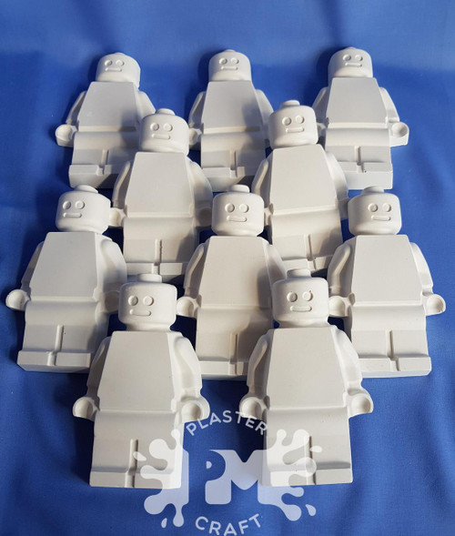 PM Plaster Craft Brick Men Basic Bulk Pack