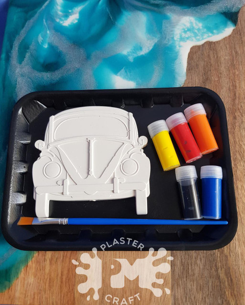 PM Plaster Craft Beetle Car Small Gift Pack