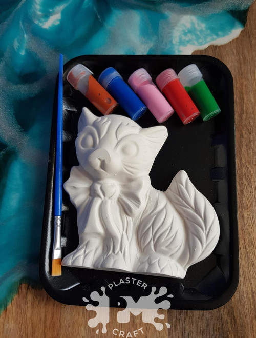 PM Plaster Craft Cat Small Gift Pack