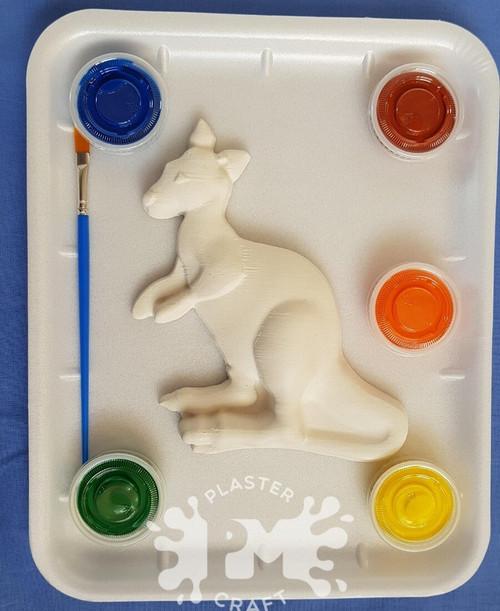 PM Plaster Craft Kangaroo Medium Gift Pack