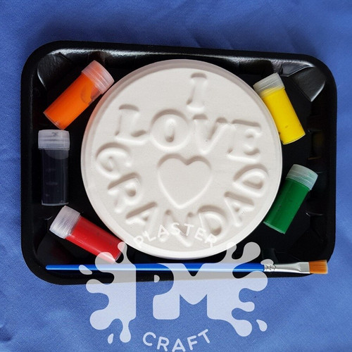 PM Plaster Craft I Love Grandad Small Gift Pack