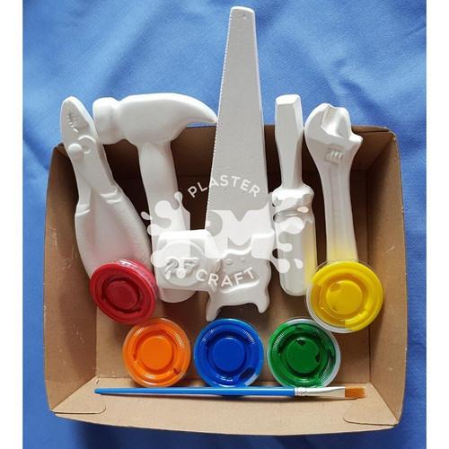 PM Plaster Craft Tools Set Medium Gift Pack