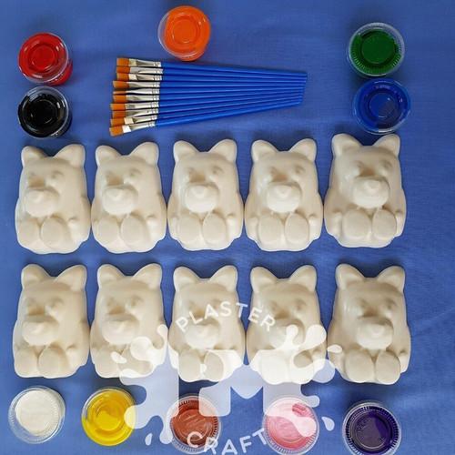 PM Plaster Craft Blue Dog Plaster Bulk Pack