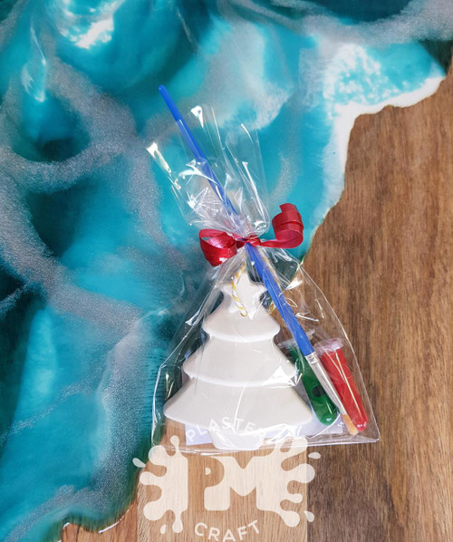 Plaster Christmas Ornaments Party Bag