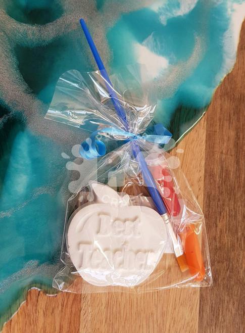 Best Teacher Plaster Gift Bag
