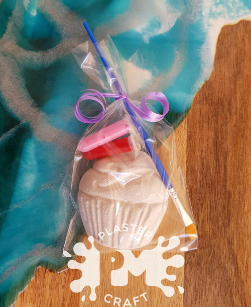Cupcake Plaster Party Favour