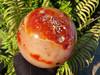 Polished Rare Size Carnelian Crystal Ball from Madagascar