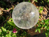 Polished Clear Crystal Spheres / Balls - Madagascar