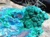 Large Chrysocolla and Malachite raw specimens - Grab Bag