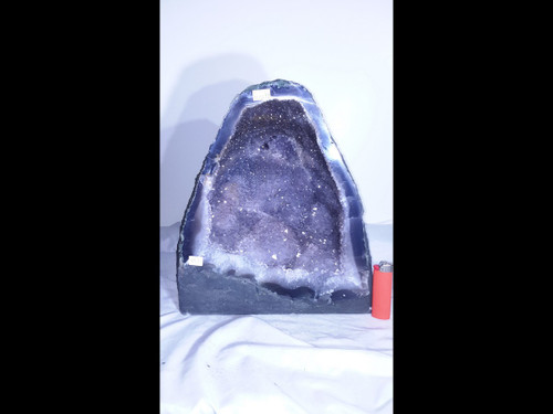 """Amethyst Church Crystal Cathedral Geode -  Great Cave - 12"""""""