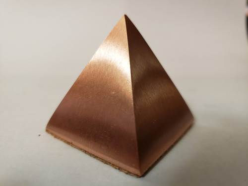 Solid Copper Pyramid - 2.625 inches