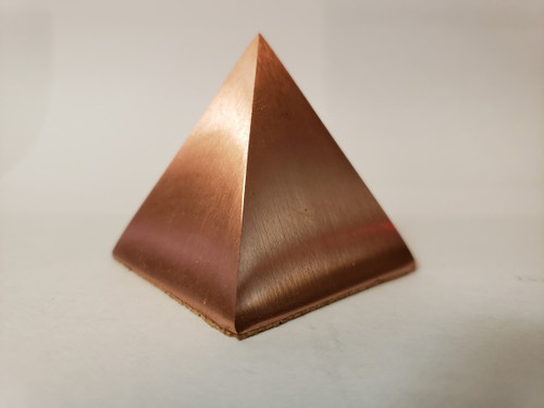 Solid Copper Pyramid - 1 5/8""
