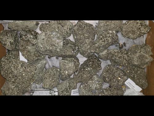 "Pyrite  - Pyrite Chispa - ""Fools Gold"" - Large (Cabinet)  3"" plus"