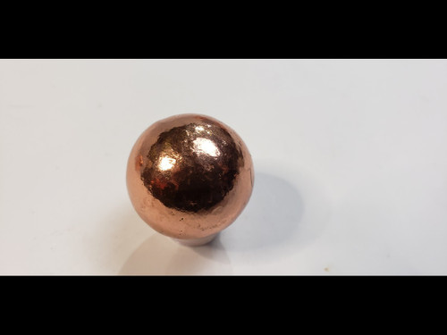 "1 1/8"" (28mm) Copper Sphere - High Polish Finish - Made from Michigan Native Copper"