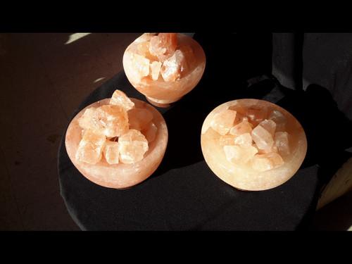 Himilayan Salt Lamp Fire Bowls