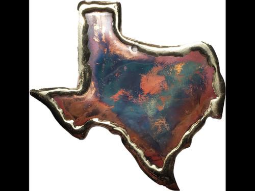 Copper Ornament - State of Texas