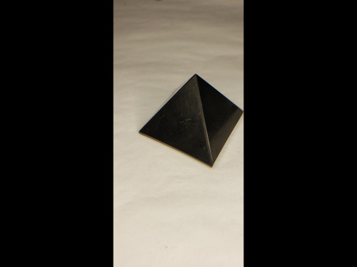 Shungite Pyramid - 35 mm