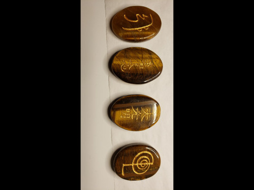 Palmstone Reiki Set - Tiger Eye