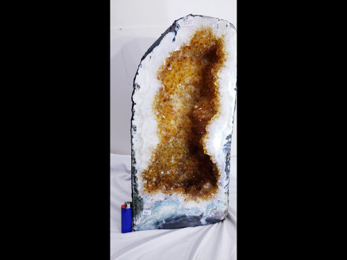 Citrine Church Crystal Cathedral Geode Tower - Giant Cave - Over 65 pounds