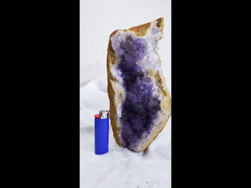 Extra Large Purple Fluorite in Matrix