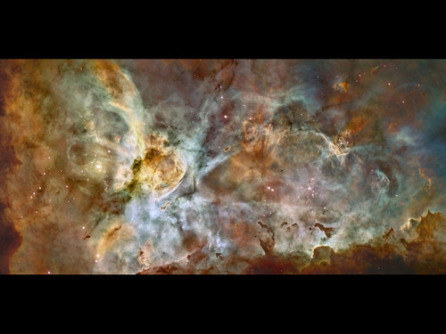 "The Carina Nebula - 24"" x 50"" Photo Poster"
