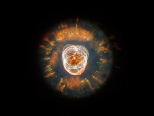 """The Eskimo Nebula - Photo Poster 24"""" x 24"""""""
