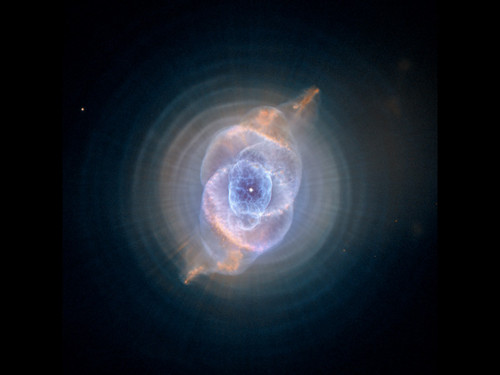 "The Cats Eye Nebula - Photo Poster 24"" x 24"""