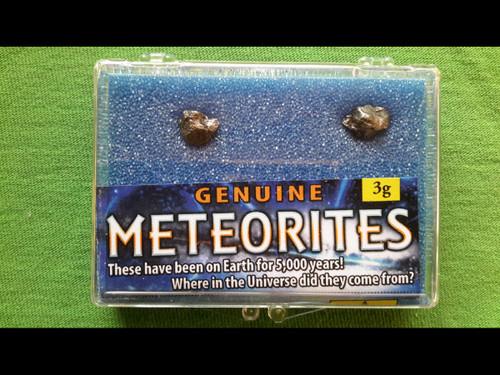 Meteorites - from Campo Del Cielo - 3 grams (x2)