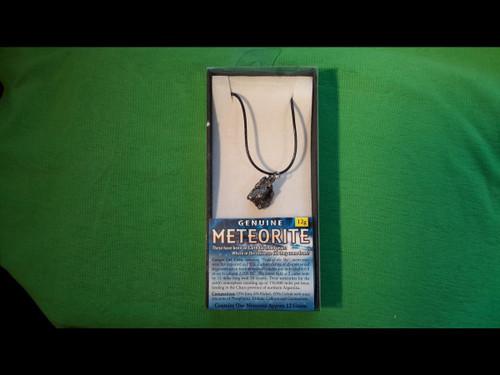 Meteorite Pendant - from Campo Del Cielo - 12 grams