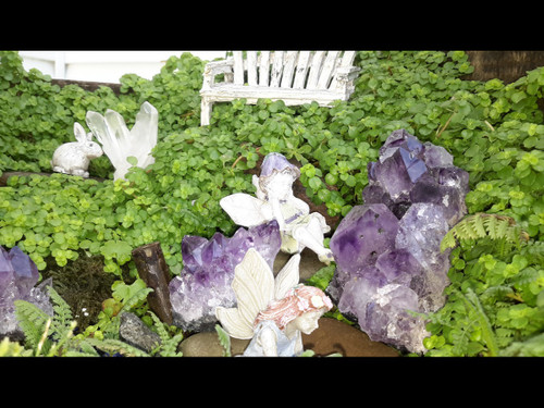 Fairy Garden Rocks - Amethyst
