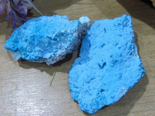Natural Botryoidal Chrysocolla Specimens from Congo - Grab Bag