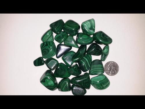 Malachite - Tumbled Stone - by the pound