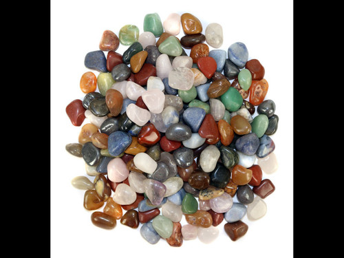 Natural Stone Mix - Tumbled Stone - by the pound
