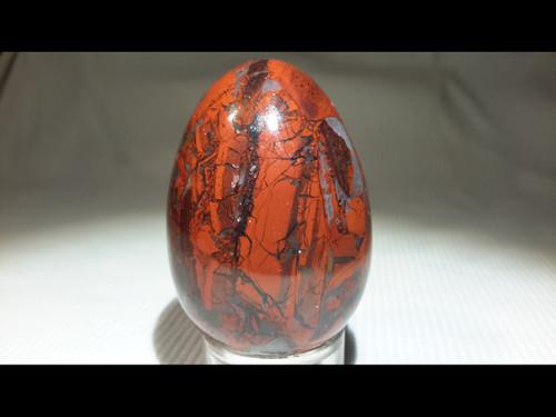 Brecciated Jasper 45 mm Polished Egg