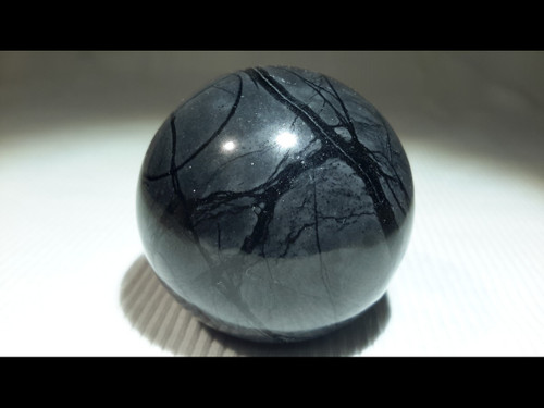 Picasso Jasper 40 mm Polished  Sphere - Crystal Ball