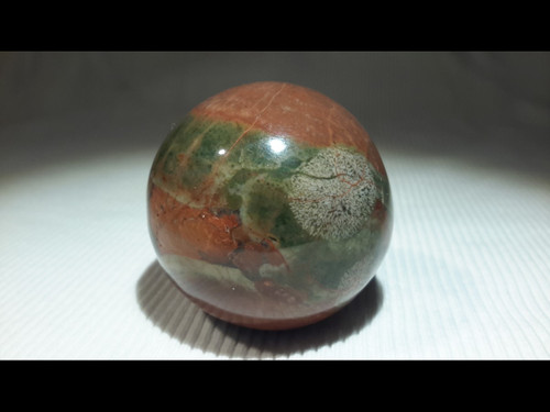 Fancy Jasper 40 mm Polished  Sphere - Crystal Ball