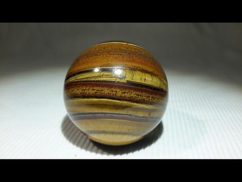 Tiger Eye40 mm Polished  Sphere - Crystal Ball