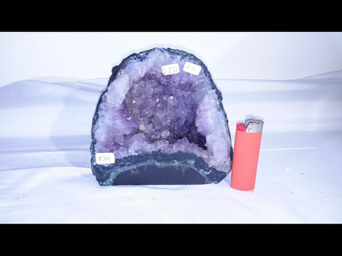 Amethyst Church Crystal Cathedral Geode -  Nice Mini Cave - 6""