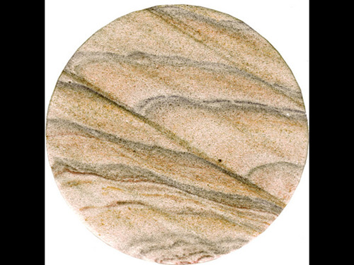 Natural Sand Stone Drink Coasters - Set of 4