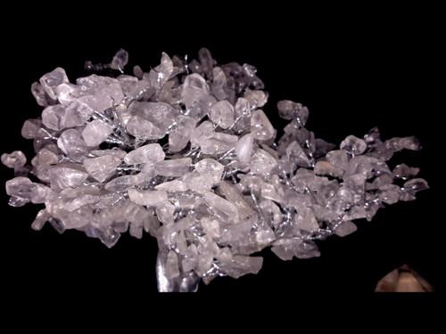 Hand Made Gemstone Tree - Made From Polished Tumbles - Large - Quartz