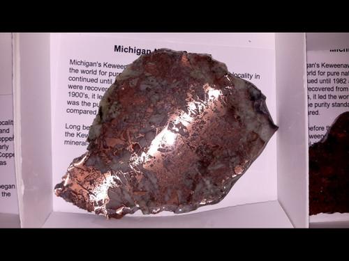 Copper Ore Slabs - Michigan Native Copper - Large
