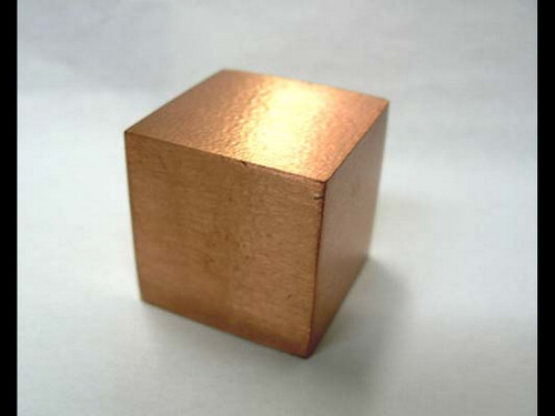 "5/8"" Solid Copper Cube"