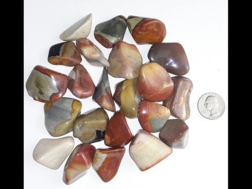 Desert Jasper Tumbled Stone - by the pound