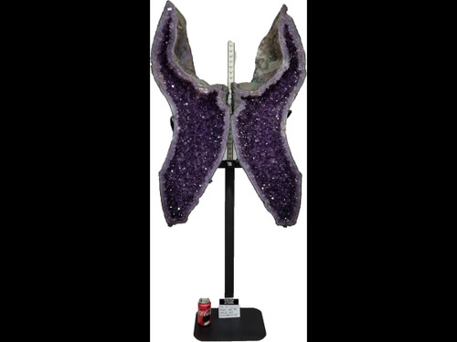 Amethyst Church Crystal Cathedral Geode Wings - 60""