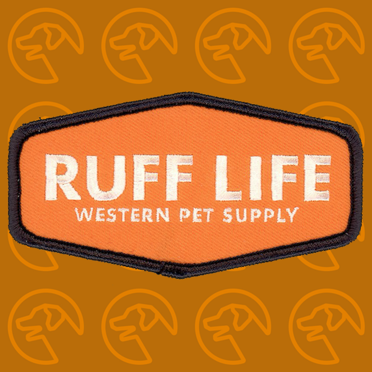 """Ruff Life """"Officially Orange"""" Patch"""