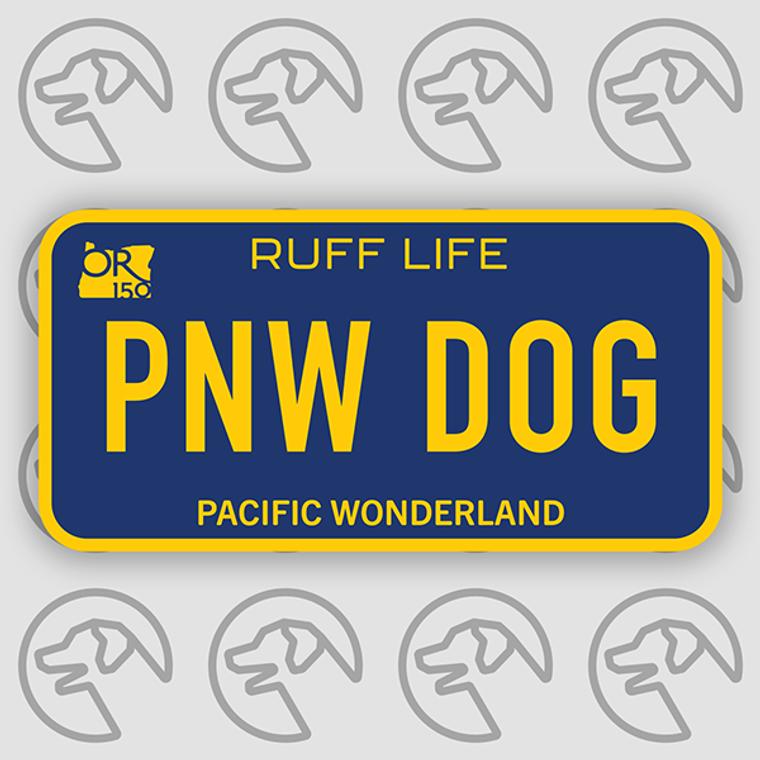 "Ruff Life ""Full Plate"" Sticker"